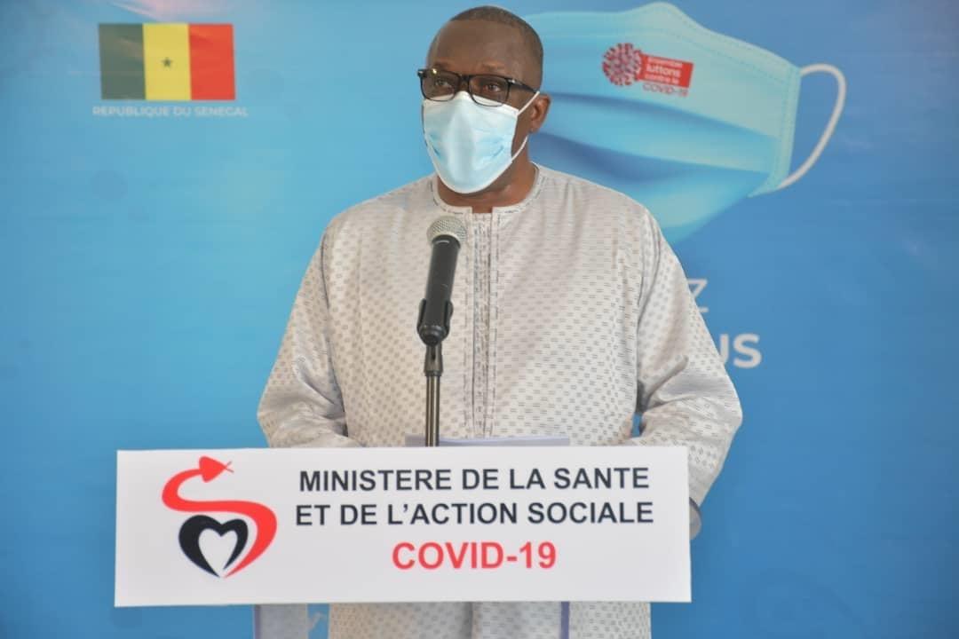 Lettre à Cheikh Oumar Hann, ministre de l'Enseignement supérieur, de la Recherche et de l'Innovation.