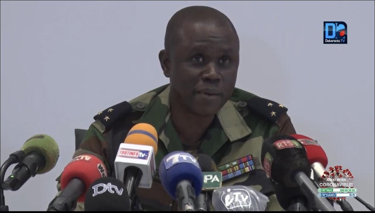 Comité de suivi de la Force-covid19 : Le Général François Ndiaye dément les perdiem pour les membres et parle de « fake news »