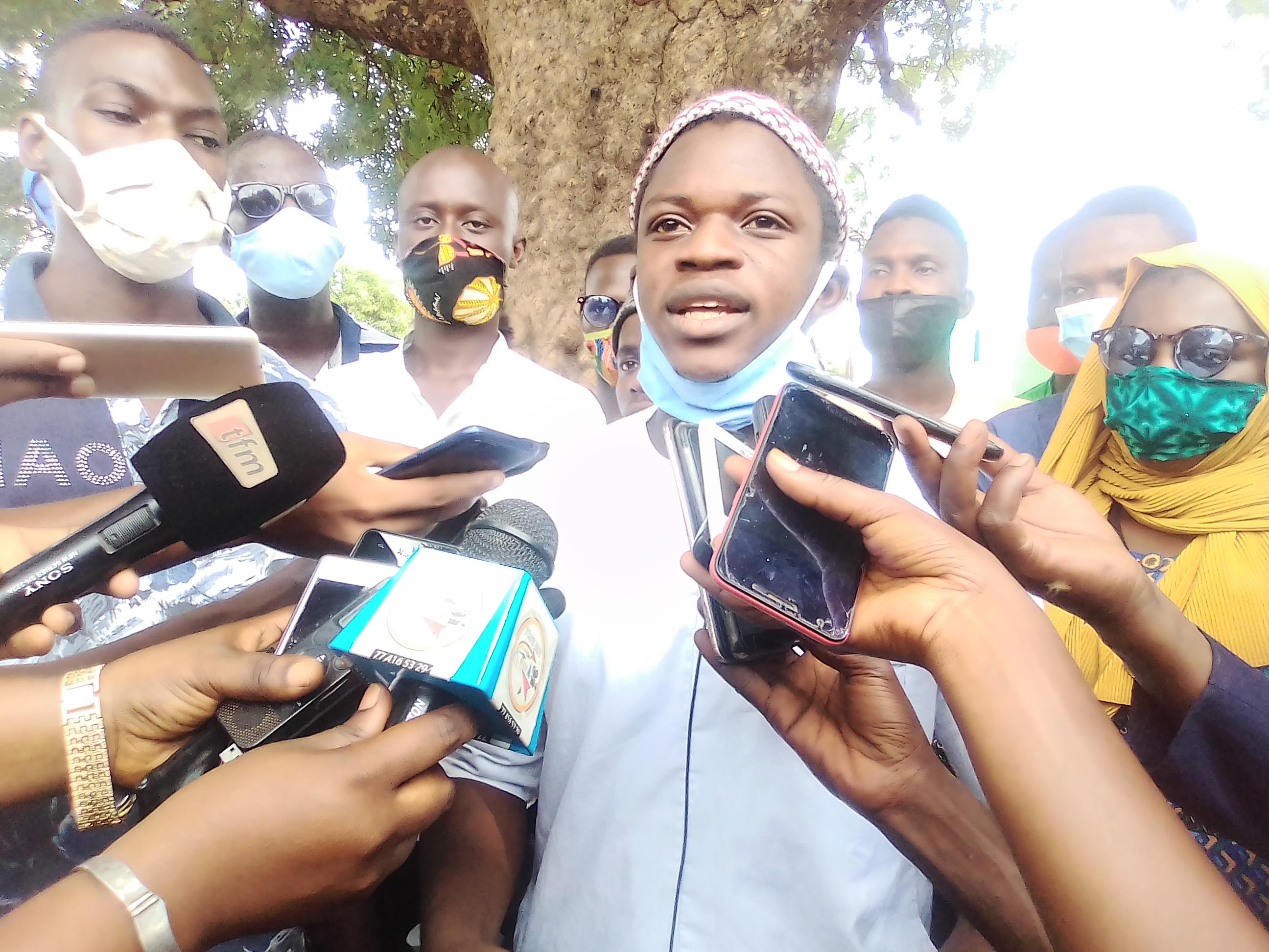 Attaques contre Mame Boye Diao : Les étudiants koldois prennent sa défense…