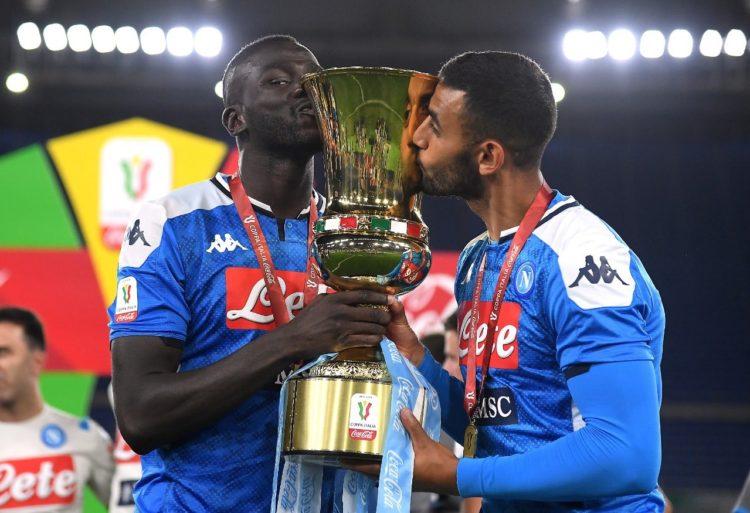 Italie - Naples de Kalidou Koulibaly s'offre la Coupe d'Italie en battant la Juventus aux tirs au but