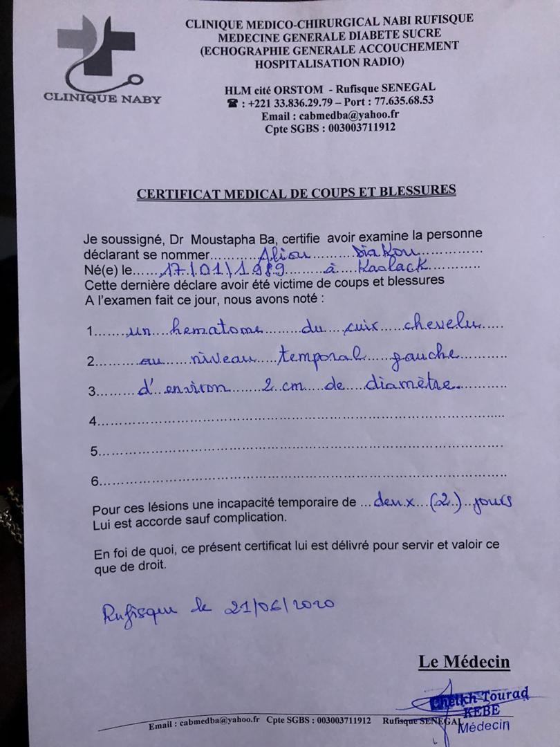 Rufisque : Des protestataires des lenteurs du projet de la Promoville à Rufisque 2, victimes d'agressions de la part des ouvriers.