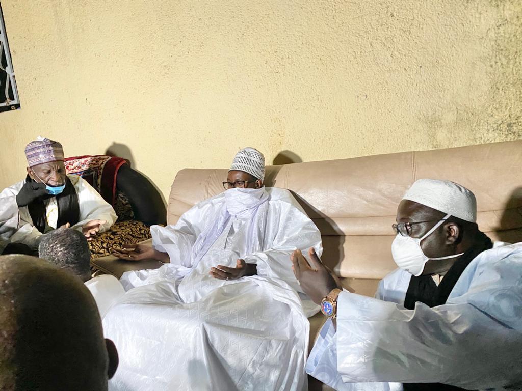 Thiènaba en deuil : Touba dépêche Serigne Bassirou Mbacké Abdou Khadre pour présenter ses condoléances.