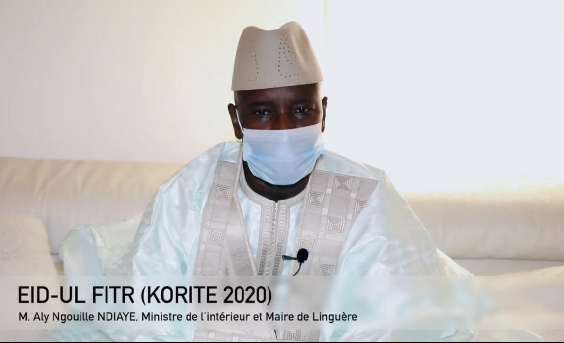 Testé négatif à l'issue de sa quatorzaine : Aly Ngouille Ndiaye sort de son « confinement »