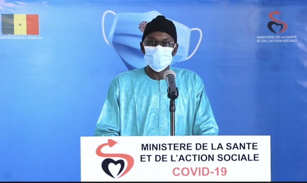 SÉNÉGAL : 98 nouveaux cas testés positifs au coronavirus, 142 nouveaux guéris, 2 nouveaux décès et 38 cas graves en réanimation.