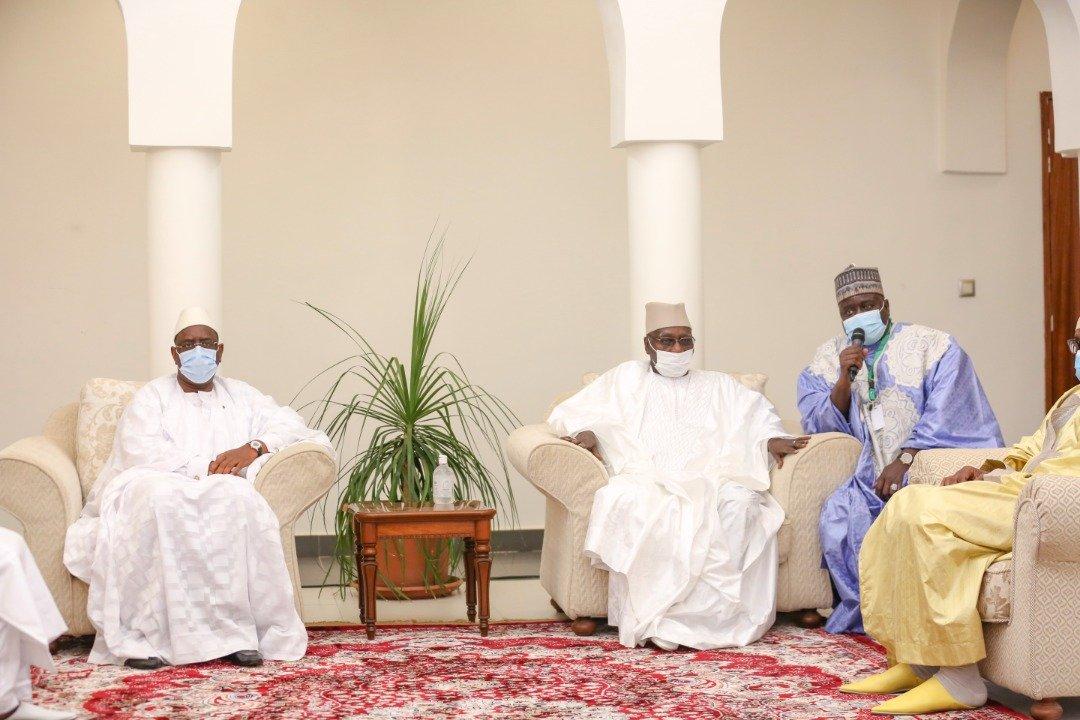 Rappel à Dieu de Serigne Pape Malick Sy et du Khalife de Thiénaba : Le président Macky Sall présente ses condoléances à huis clos aux deux familles Tidianes