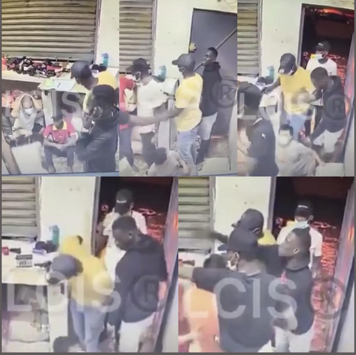 Braquage d'une boutique d'un ressortissant Chinois : « Au lieu de 96.000.000 FCFA, c'est une somme de 70.000.000 FCFA qui a été emportée par les malfaiteurs » (Police nationale)