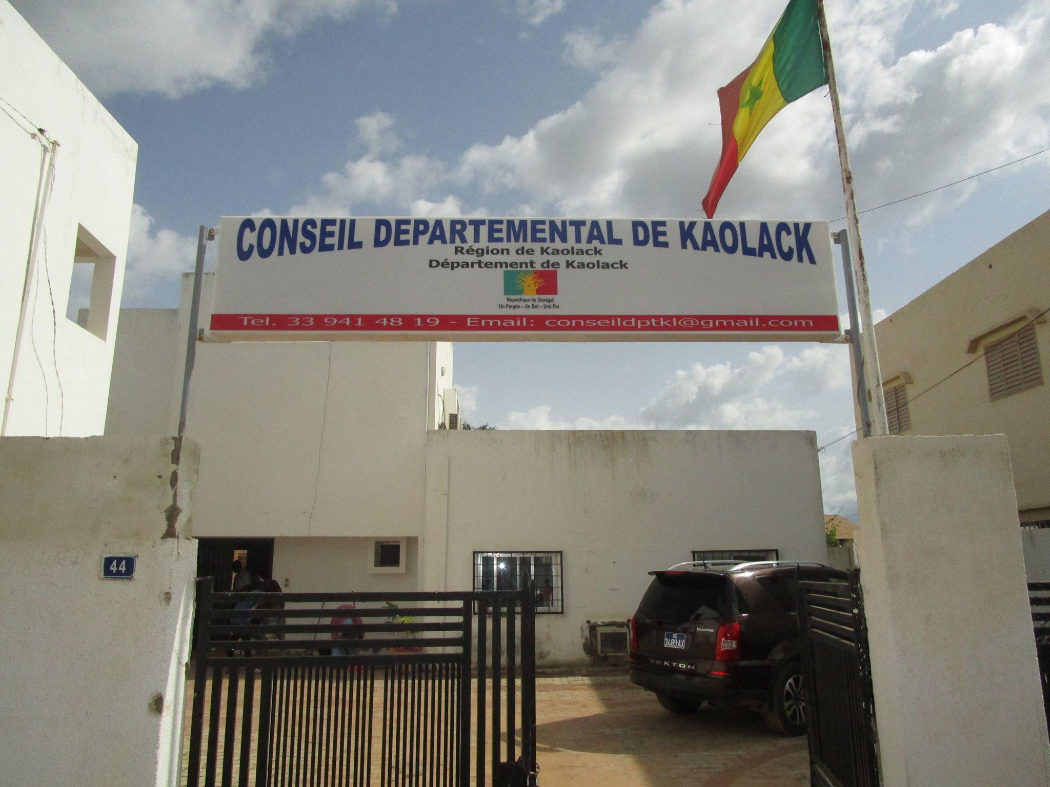 Cambriolage : Le Conseil départemental de Kaolack visité nuitamment par des malfaiteurs.