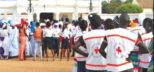 Médina Baye : 400 éléments de la Croix Rouge dans le dispositif.
