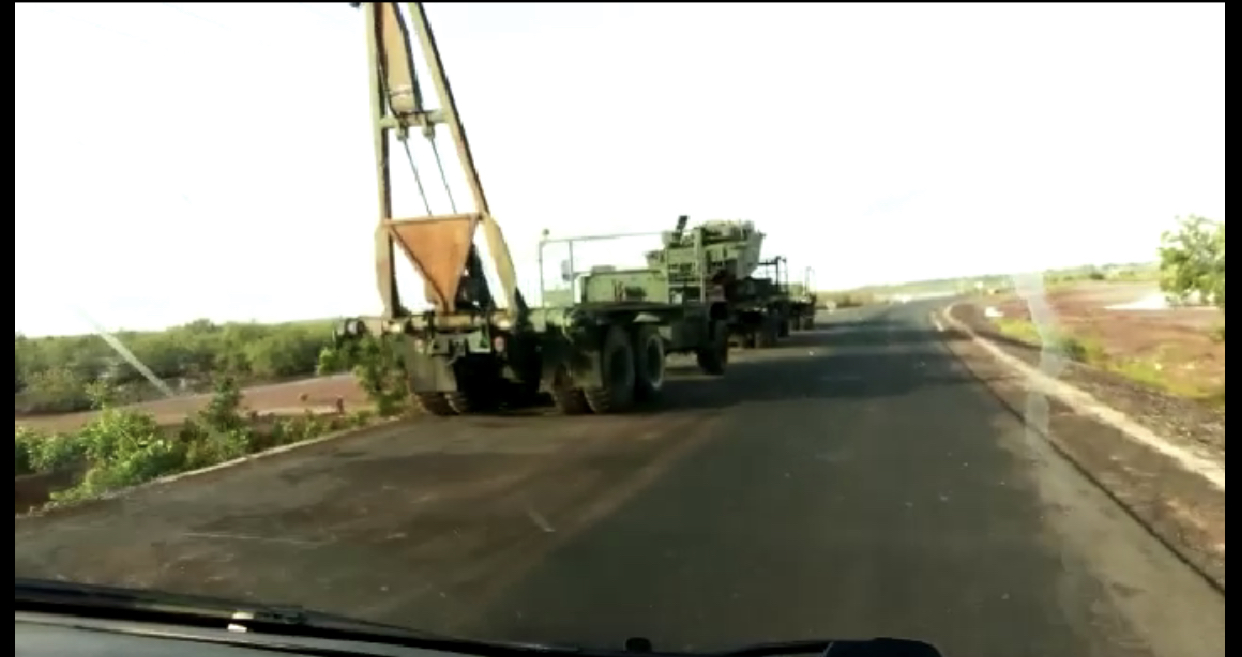 Casamance / Réhabilitation du pont de Niambalang par le génie militaire qui prévoit la fin des travaux en début octobre.