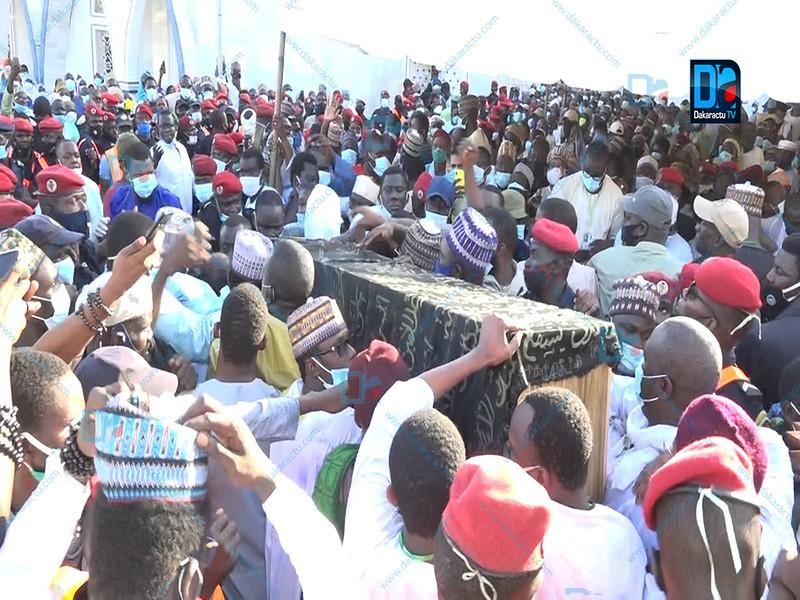 Médina Baye: Revivez en images la cérémonie funéraire.