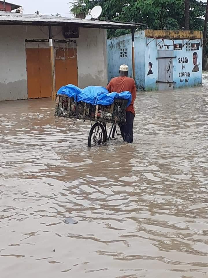 Inondations à Ziguinchor / L'appel de détresse du maire Abdoulaye Baldé.