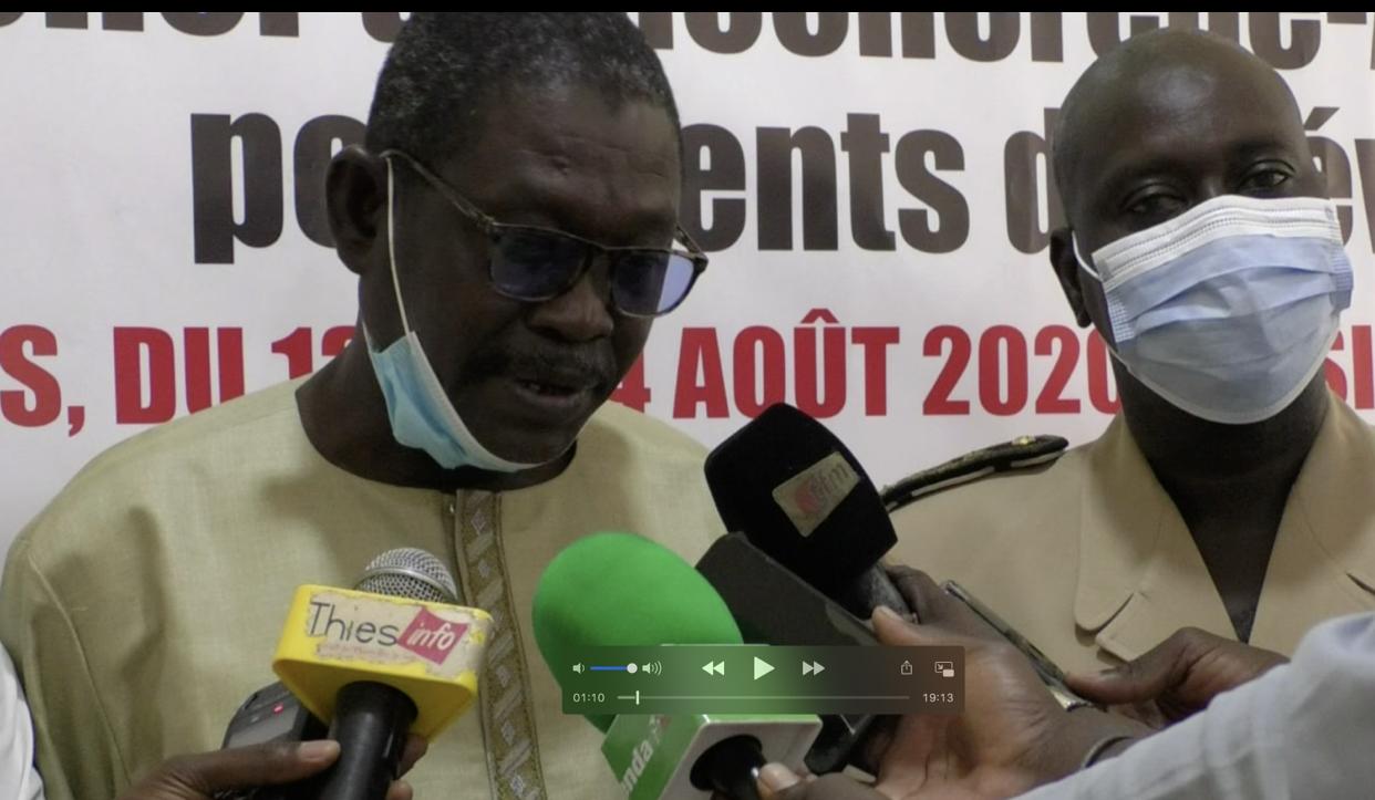 """Thiès : """"Les Ics ne payent ni redevance, ni taxe à l'État du Sénégal et aux collectivités riveraines impactées, les populations sont dépossédées de leurs moyens de survie (Abdou Aziz Diop)"""