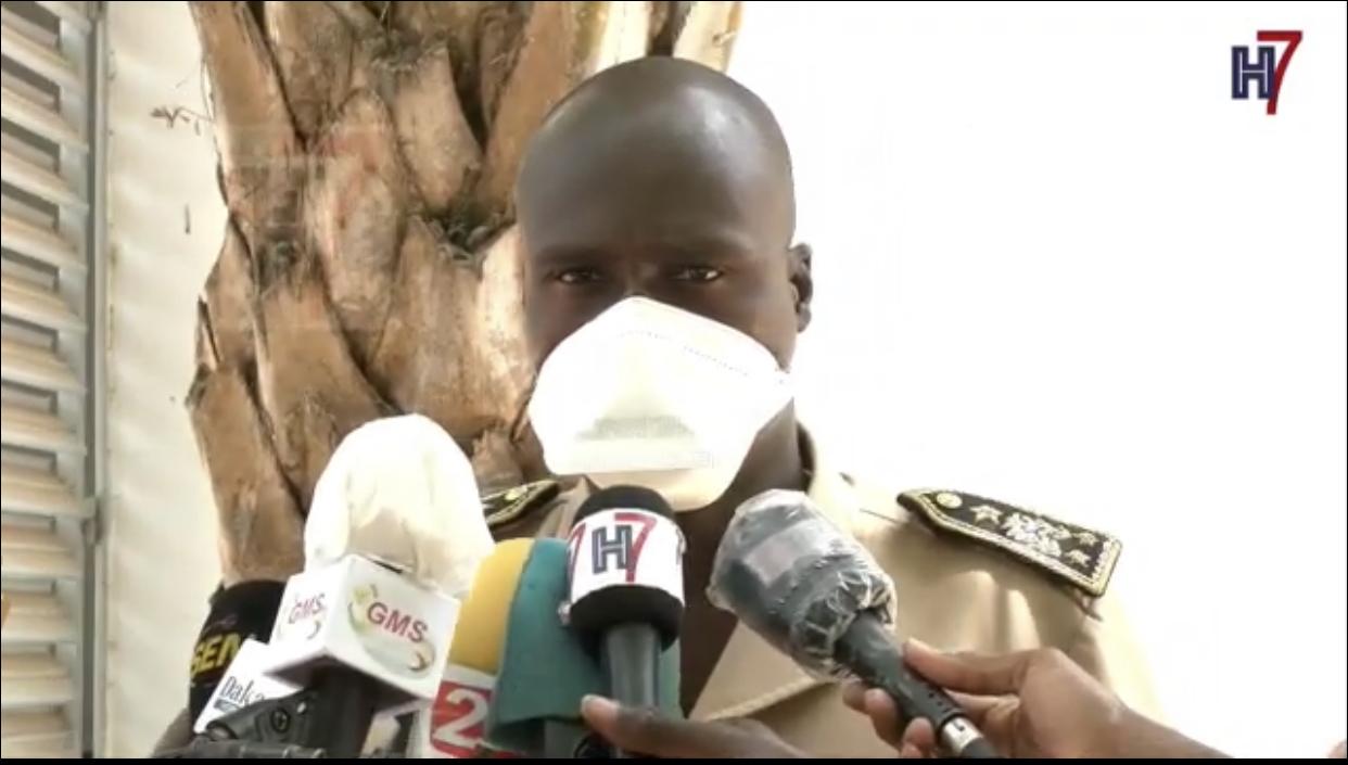 Défaut de port de masque / Le préfet de Ziguinchor fait arrêter 50 personnes et promet de poursuivre son action.