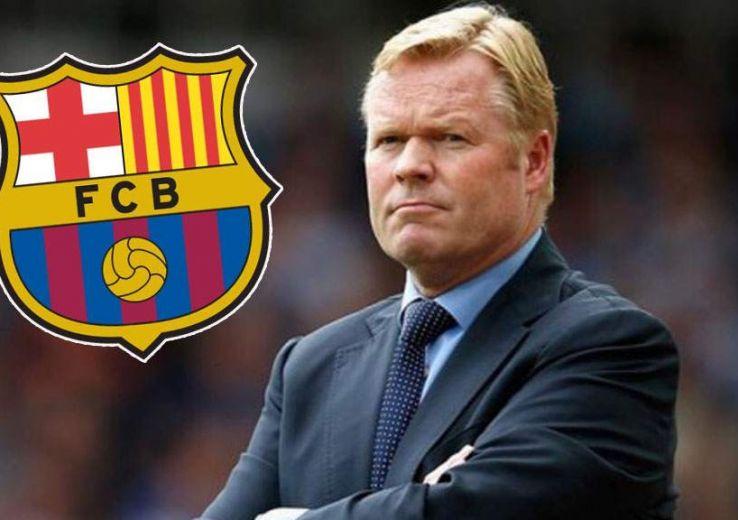 Football : Ronald Koeman sera le prochain entraîneur du FC Barcelone.
