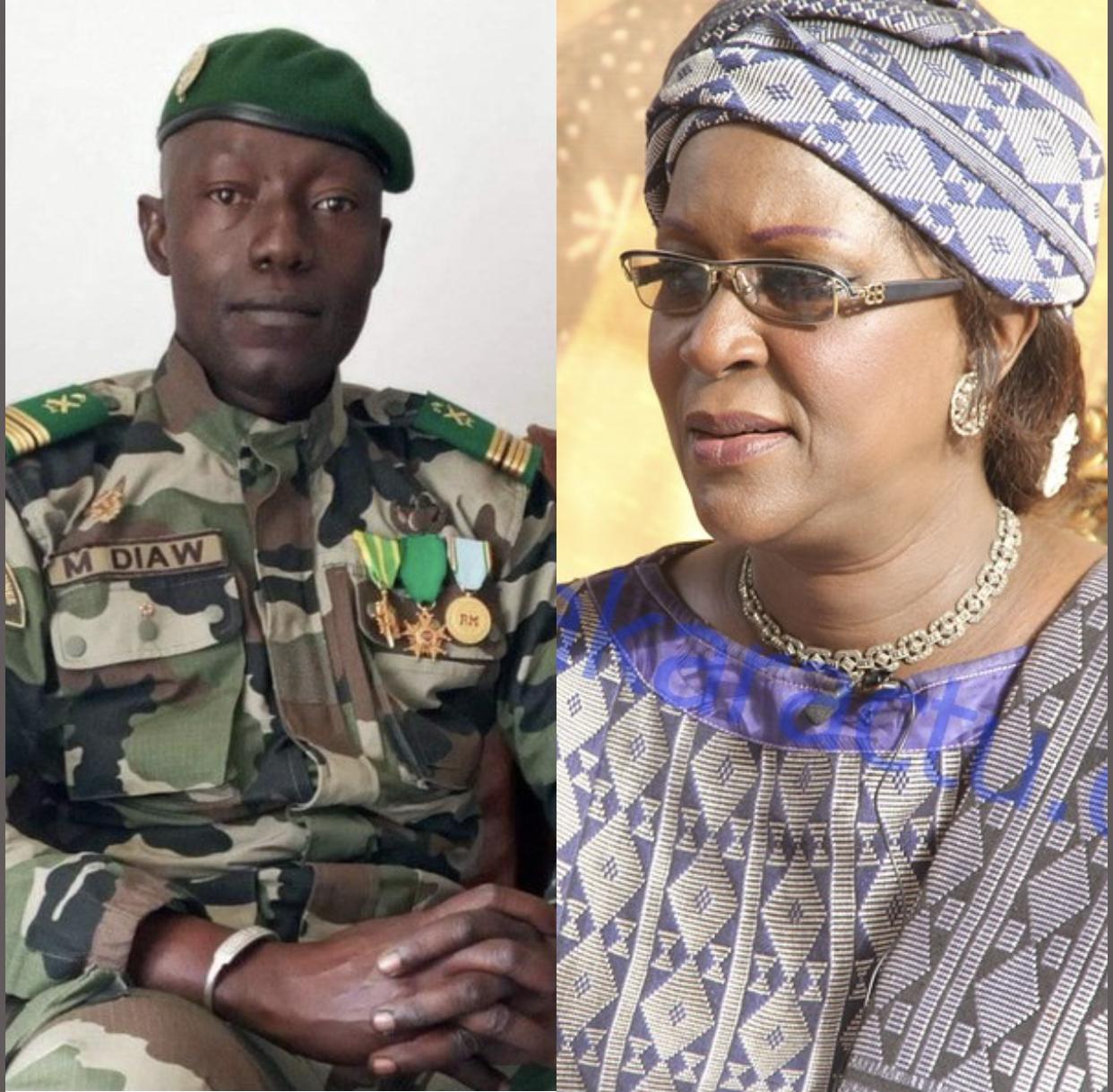Découverte : Le colonel Malick Diaw serait un cousin au Pr Amsatou Sow Sidibé.