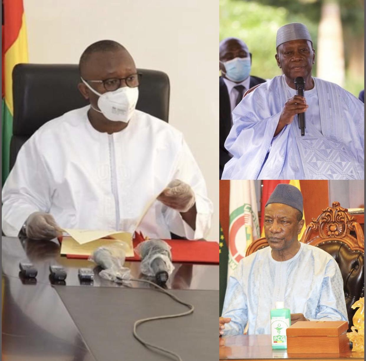 Sommet extraordinaire de la CEDEAO sur le Mali : Umaro Sissoco Embalo règle ses comptes avec deux présidents.