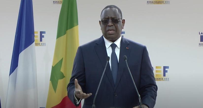 Relance de l'économie nationale éprouvée par le Coronavirus : Macky Sall charme le secteur privé français.