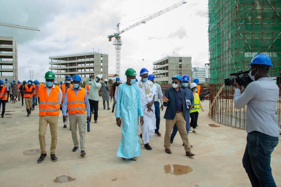 Maison des Nations Unies : les travaux de gros œuvres achevés à plus de 60%