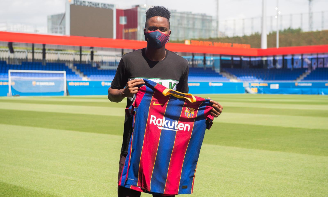 Transfert : L'international sénégalais, Moussa Ndiaye, signe pour trois ans au FC Barcelone.