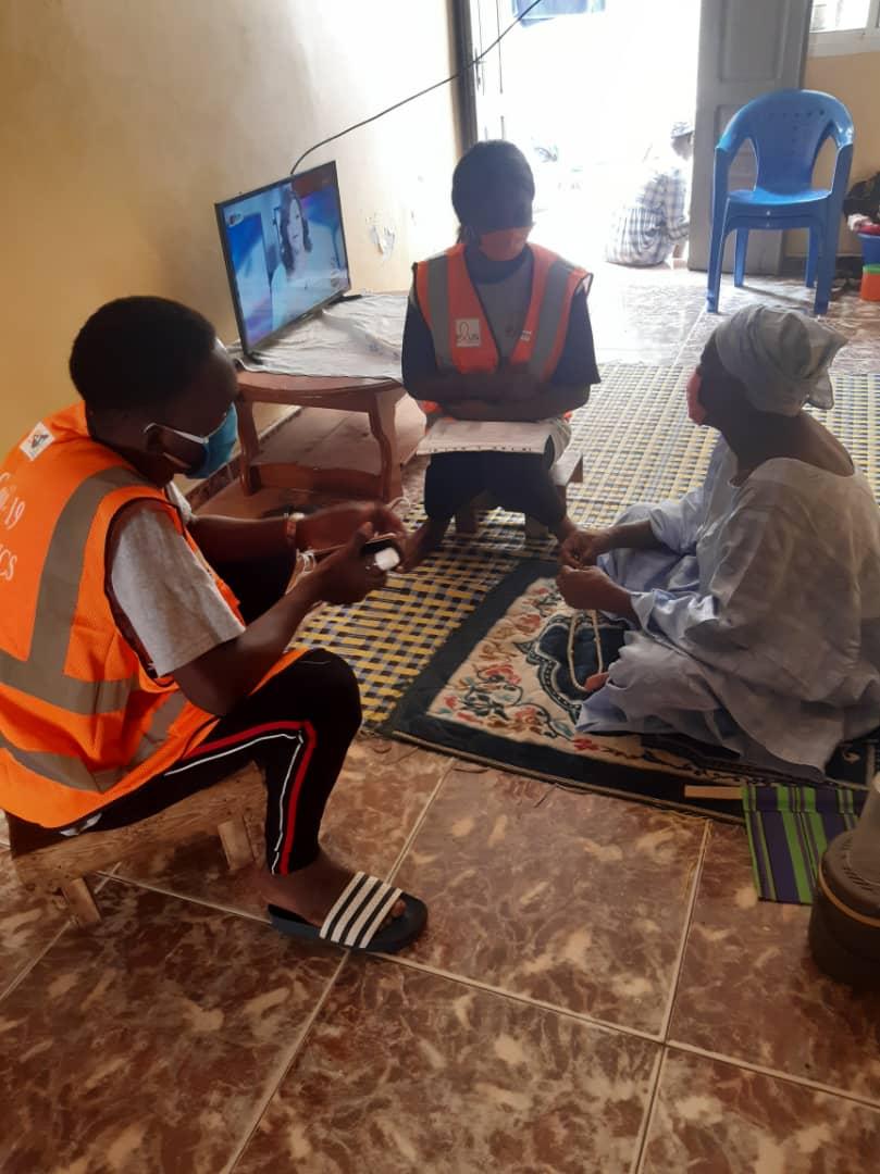 Dakar / Campagne contre la Covid-19 : Plus de 40 mille personnes enrôlées par les volontaires de l'ANCS.