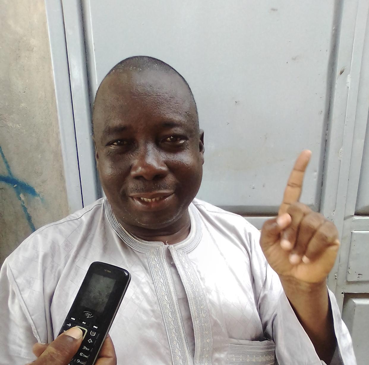 KOLDA : La communauté guinéenne dit non à un troisième mandat d'Alpha Condé.