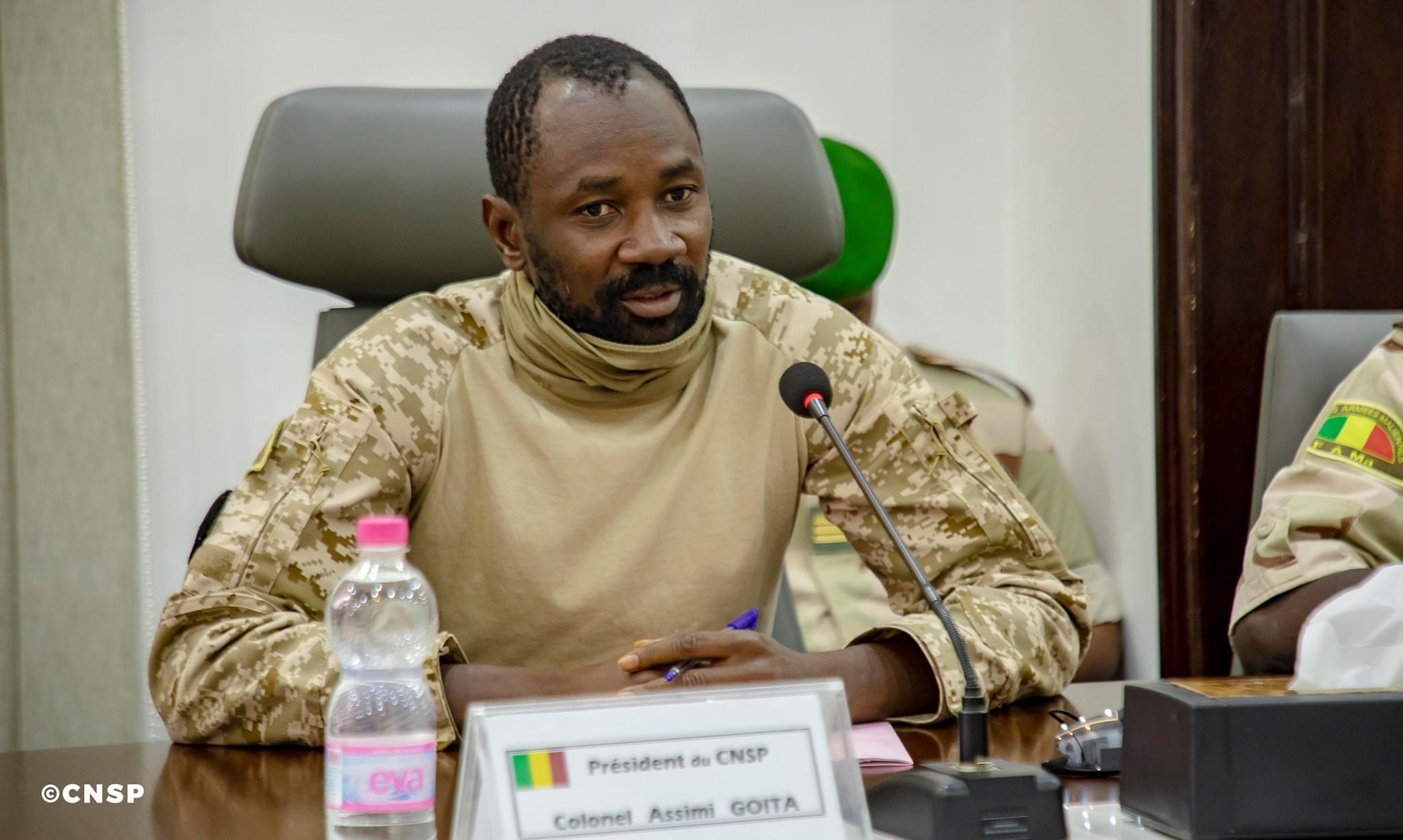 Mali : Le président du CNSP nomme des hommes de confiance aux postes stratégiques.