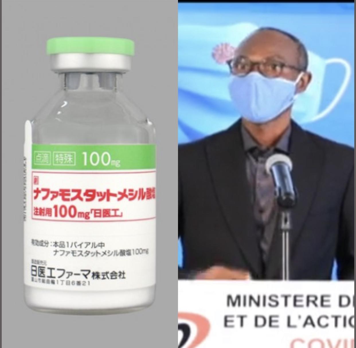Exclusif! Traitement des cas graves covid au Sénégal: le pr Moussa Seydi jette son dévolu sur le Nafamostat.