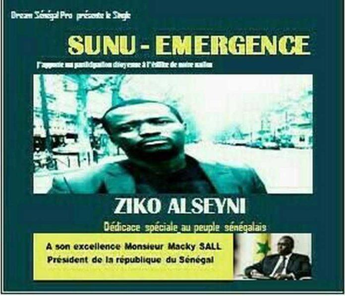 KOLDA : L'artiste Ziko dédie son nouveau single « Sunu Émergence » à Macky Sall.