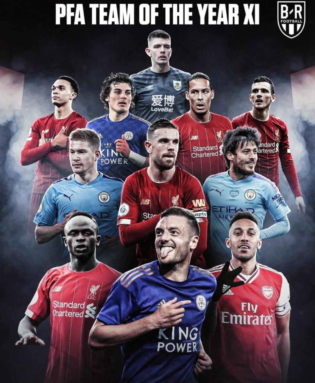 PFA Awards 2020 : Sadio Mané dans le onze type de la Premier League.