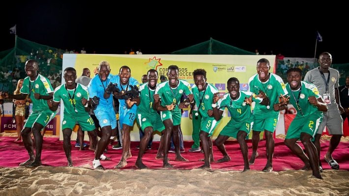 CAN Beach Soccer : Le Sénégal abritera le tournoi final.