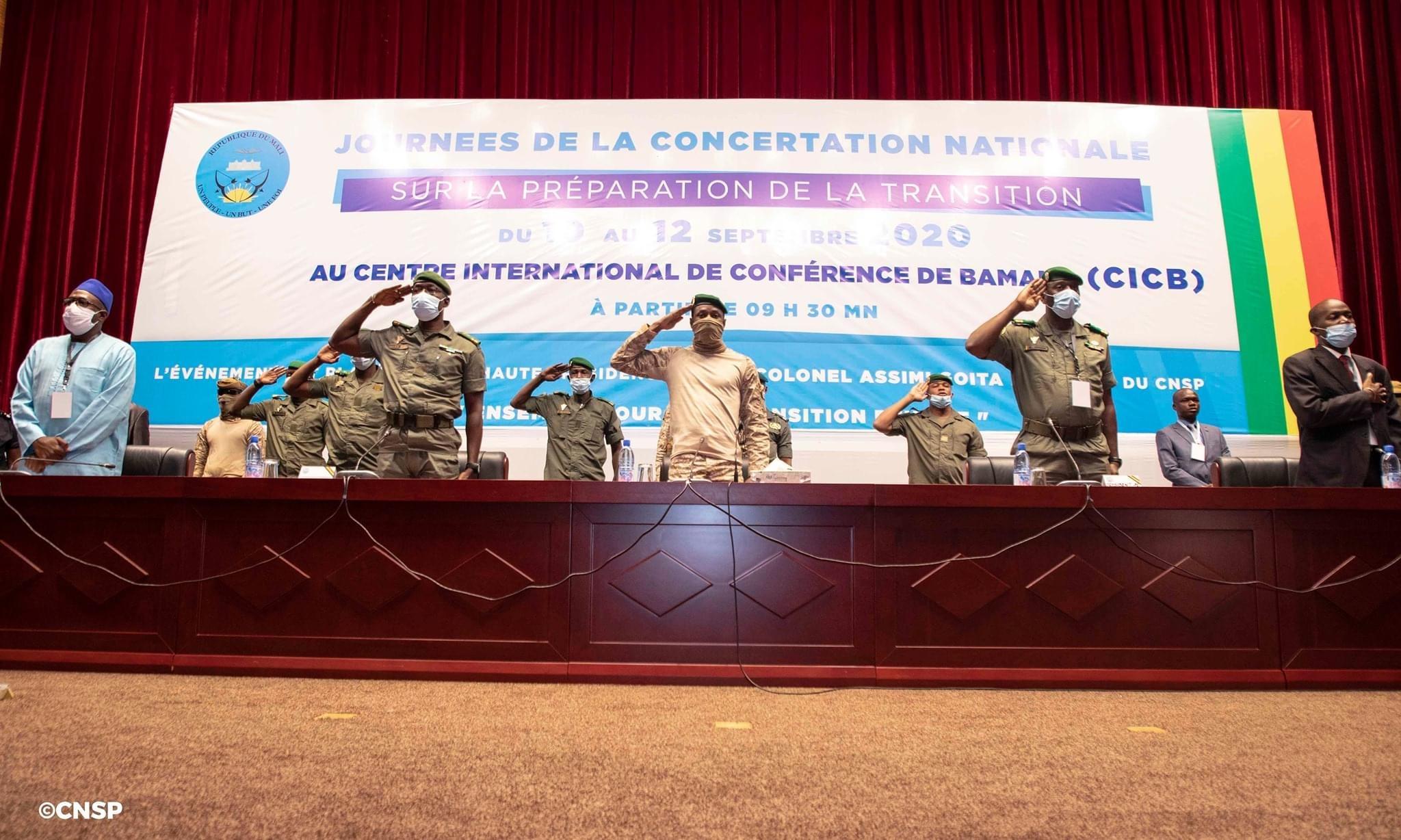 Mali : Le projet de la charte de transition légèrement retouché.