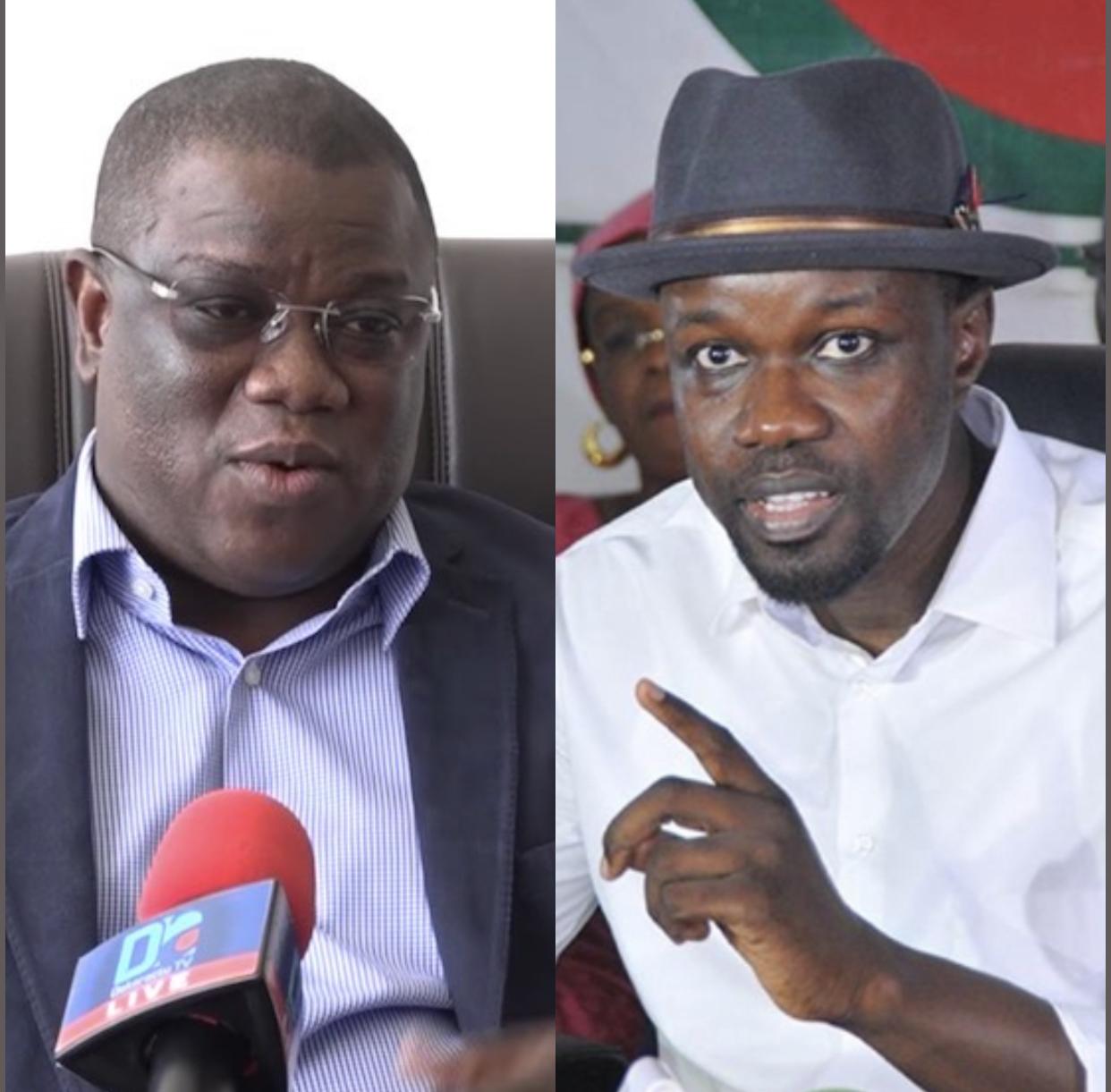 Ziguinchor : Ousmane Sonko demande à Abdoulaye Baldé de s'expliquer sur les 200 millions alloués au curage des caniveaux.