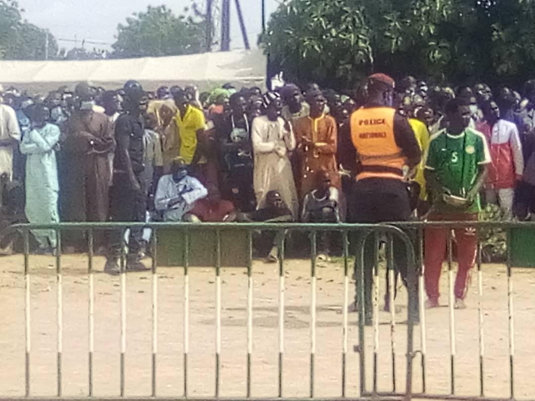 Inhumation de Cheikh Abdoulaye Wilane : Les fidèles prennent d'assaut Médina Baye Kaffrine.