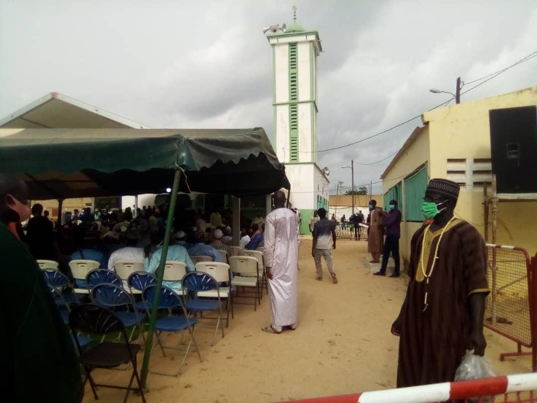 Médina Baye Kaffrine : Cheikh Abdoulaye Wilane inhumé près de la grande mosquée.