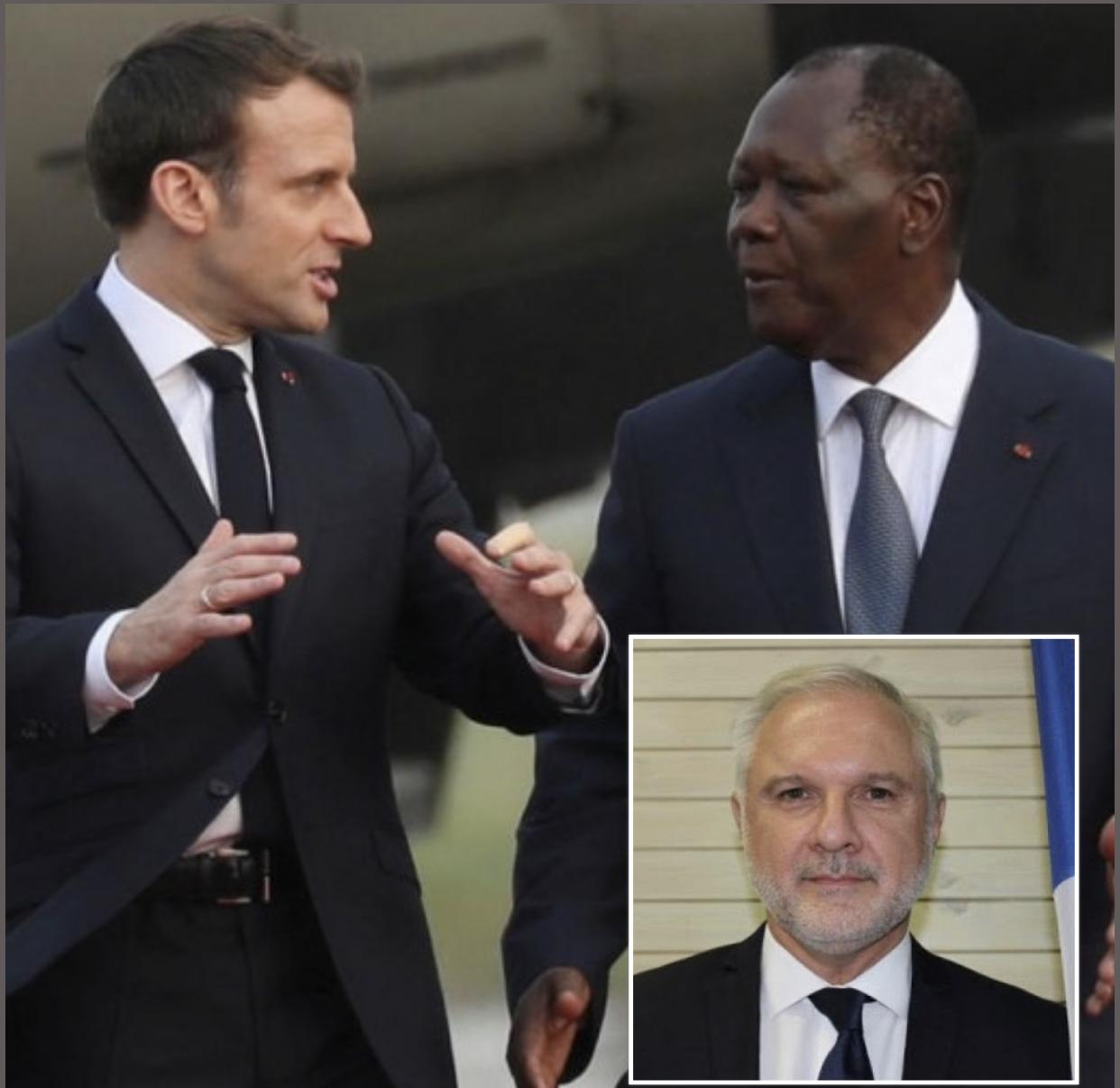 Paris rappelle son ambassadeur en Côte d'Ivoire : Macron lâche-t-il ADO ?