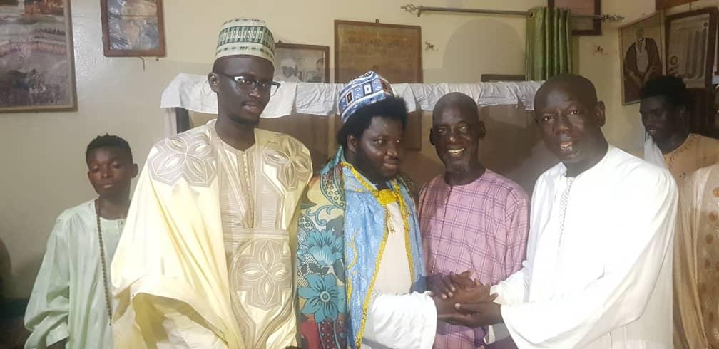 Installation du nouveau Khalife de Médina Baye Kaffrine : Baye Euweul Wilane succède à son père.