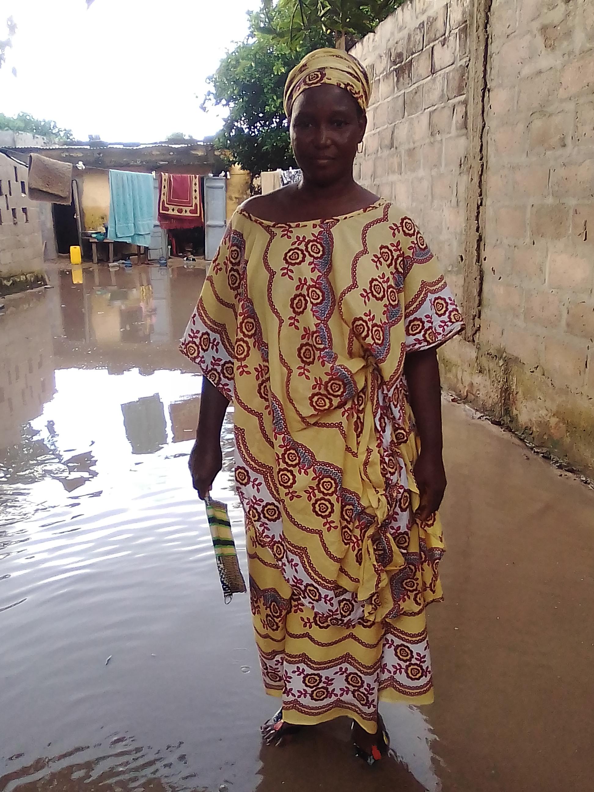 Inondations / Kolda : Le maire au chevet des sinistrés.