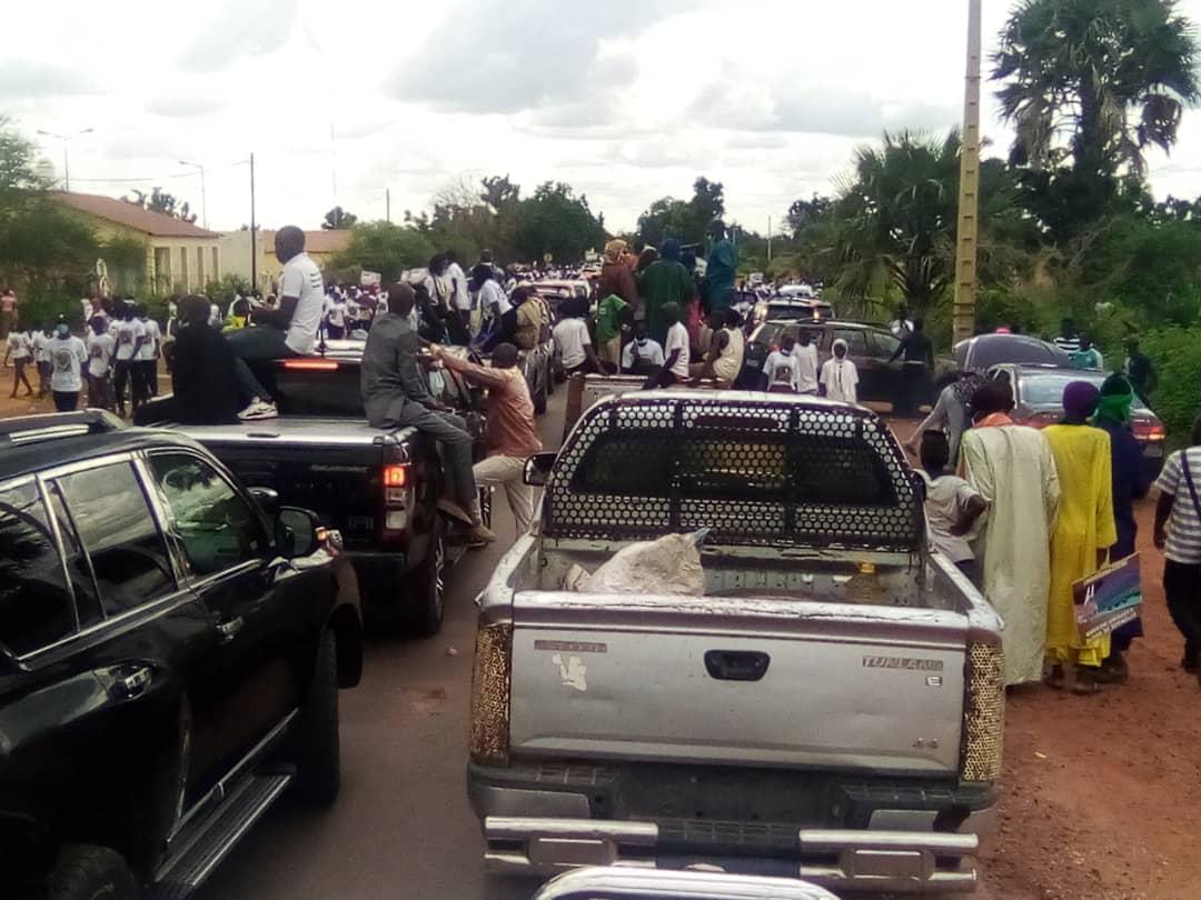 Tournée agricole : Kaffrine se mobilise pour accueillir le chef de l'État.