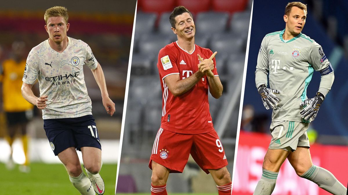 UEFA : les finalistes pour les titres de meilleur joueur et meilleur coach 2019-2020