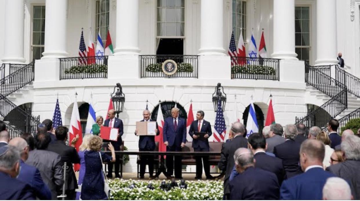 Bref aperçu de la normalisation des relations entre les Émirats Arabes Unis et le  Bahreïn avec Israël. (Par Mamadou Guèye)