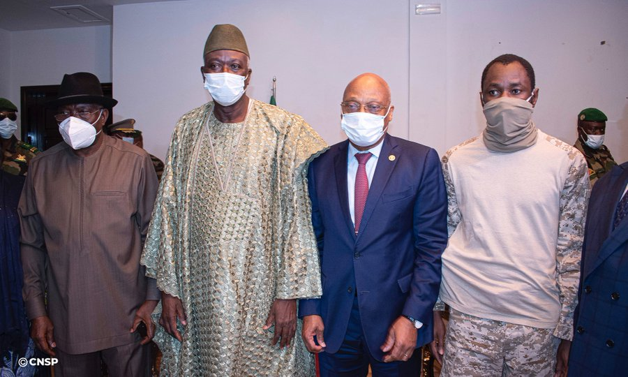 Mali : Le président de la Transition a reçu l'envoyé spécial de la CEDEAO.