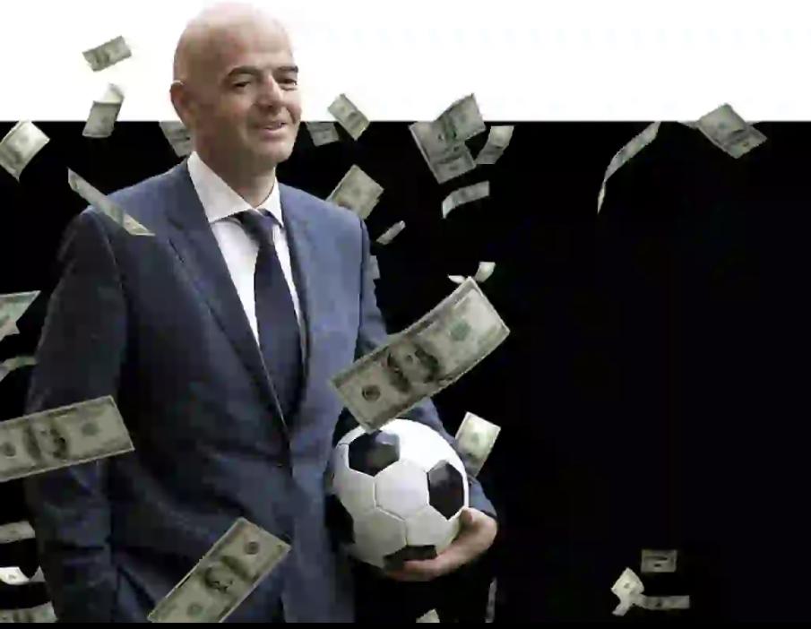 """Droits FIFA : Infantino cité dans un """"Deal"""" de 25 milliards de dollars."""