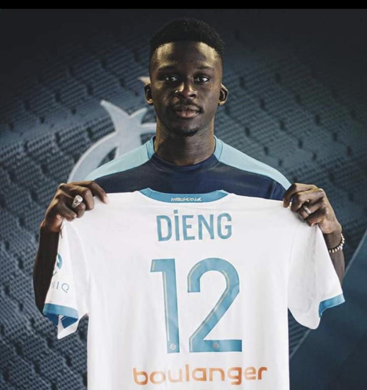 Marseille : Ahmadou Bamba Dieng intègre le centre de formation.