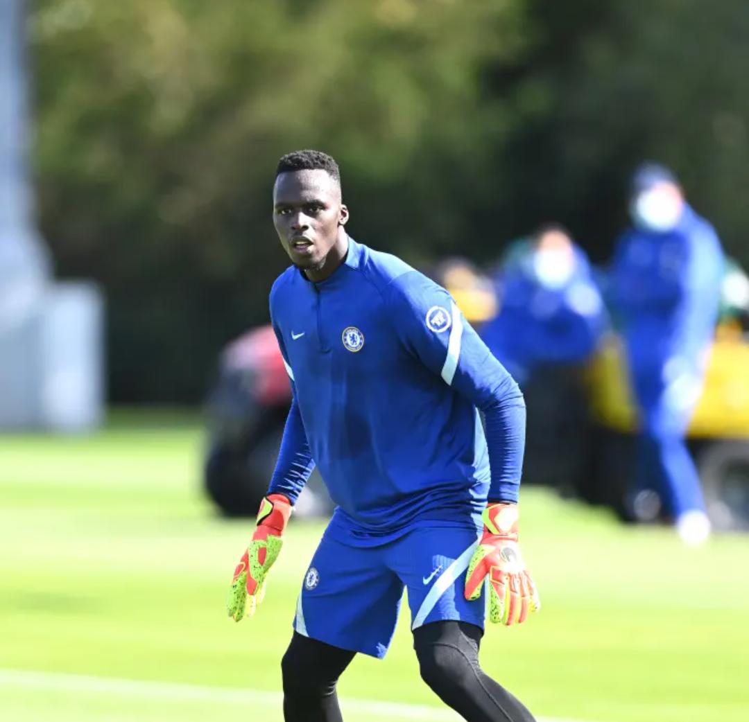 Équipe nationale / Officiel : Édouard Mendy déclaré forfait par la FSF, contre le Maroc et la Mauritanie.