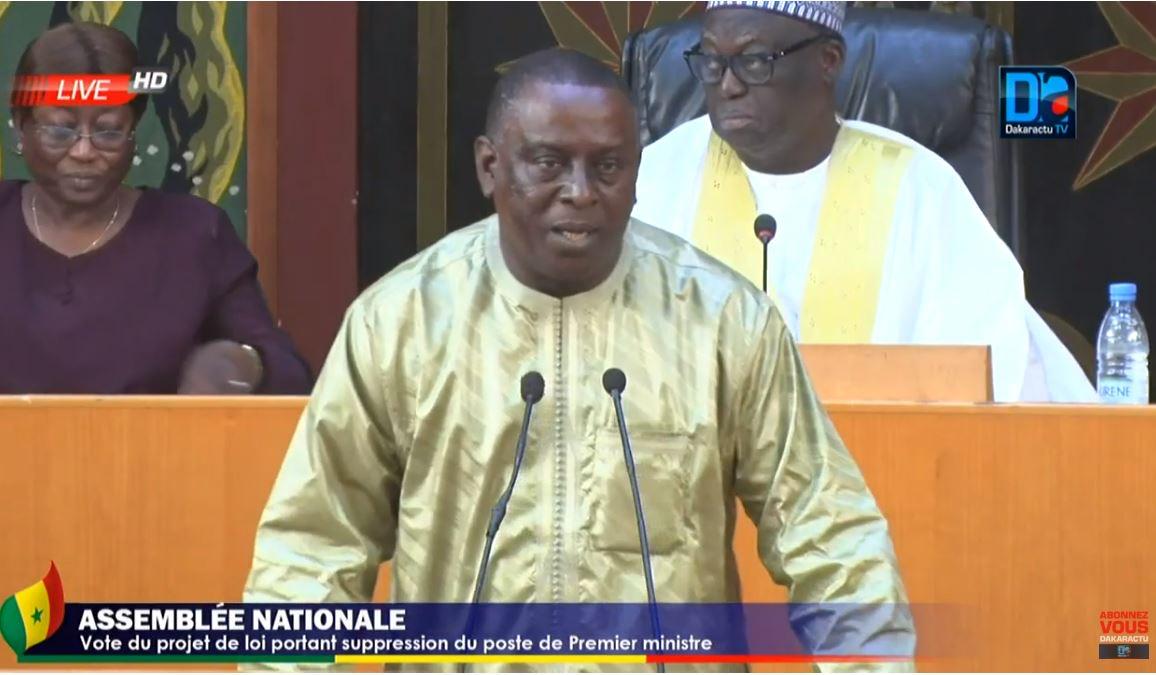 Assemblée nationale : Cheikh Tidiane Gadio perd son siège de député.