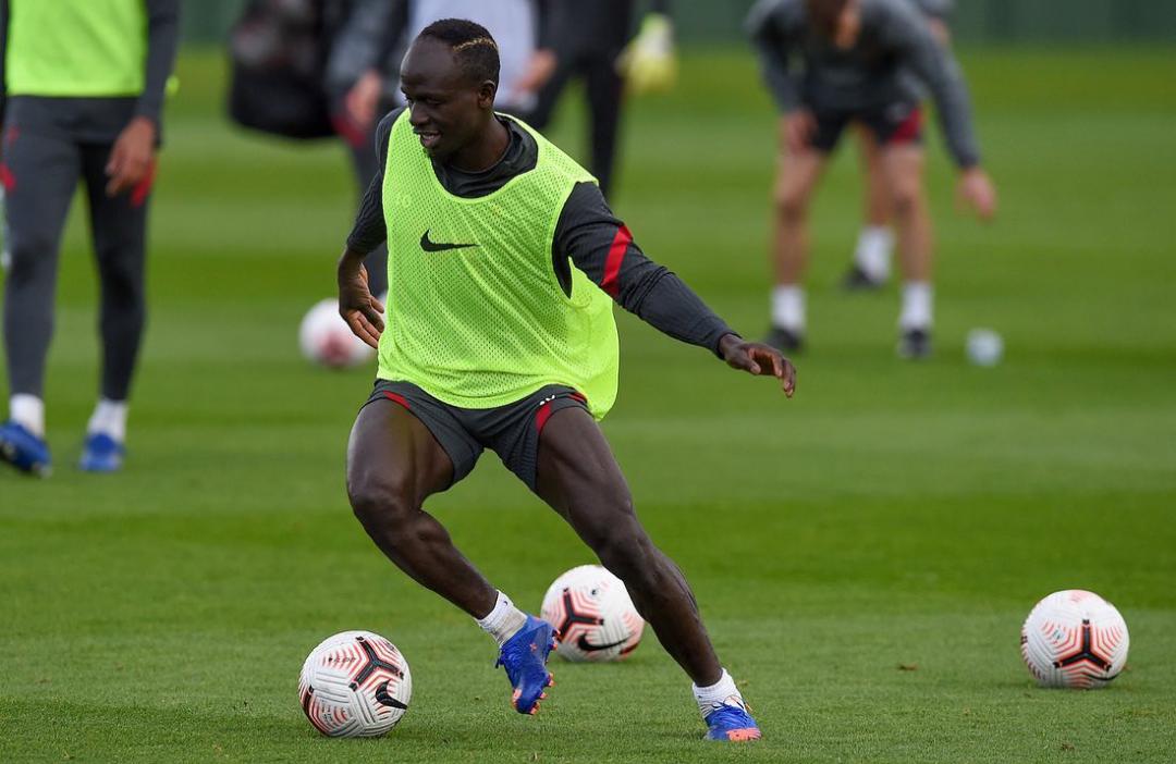 Liverpool : Guéri du Covid-19, Sadio Mané a repris l'entraînement...
