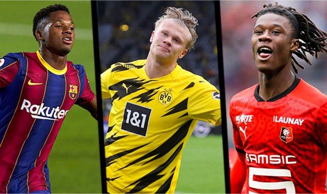 Golden Boy 2020 : Ansu Fati, Camavinga et Haaland en pole position, aucun joueur Africain présent.