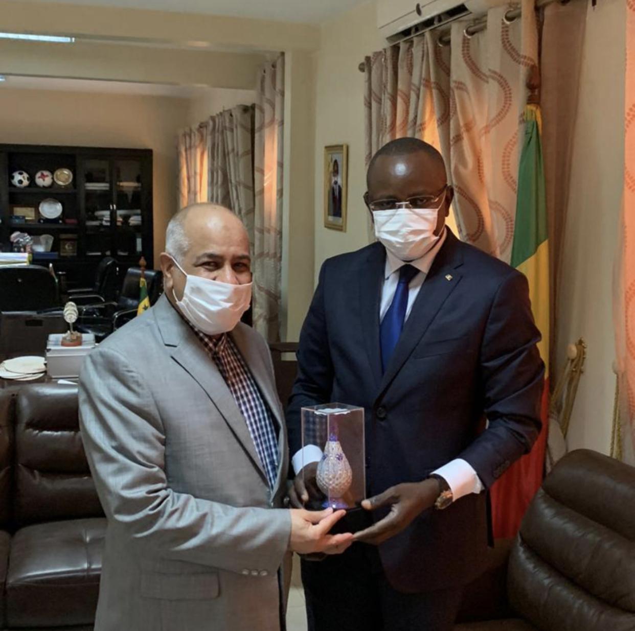 Coopération sportive / Cinquantenaire entre le Sénégal et l'Iran : Matar Bâ et l'ambassadeur Dehshiri sur la même longueur d'onde.