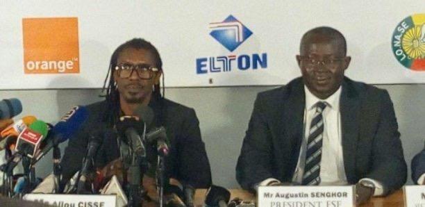 """Bilan du dernier regroupement des """"Lions"""" : Me Augustin Senghor parle d'un sentiment mitigé et conforte Aliou Cissé."""