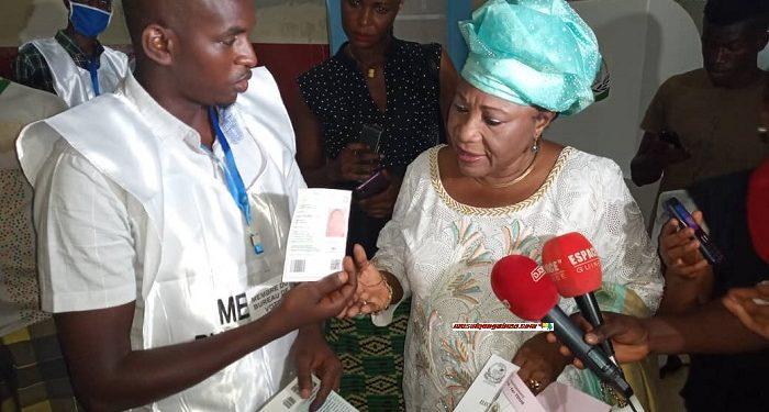 Présidentielle en Guinée Conakry  : Une candidate empêchée de voter.
